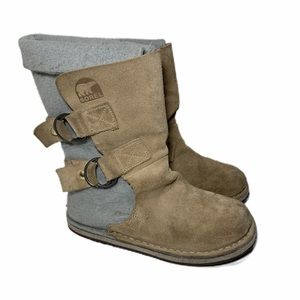 Sorel Chipahko Lined Boot With Buckle
